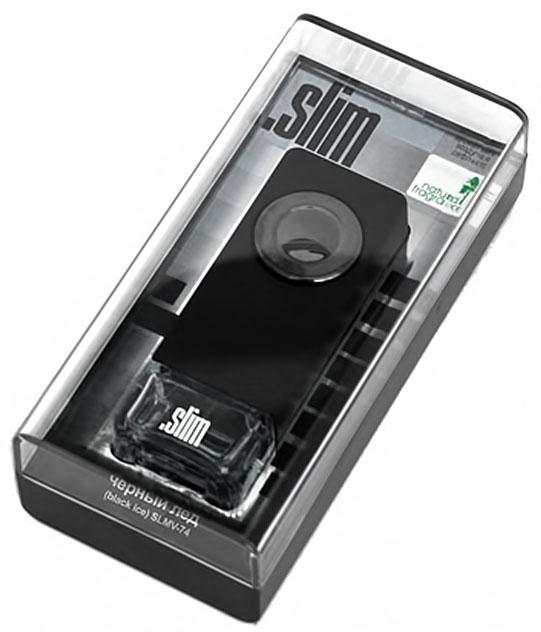 Ароматизатор автомобильный FKVJP Slim. Черный лед, на дефлектор, 8 млSLMV 74