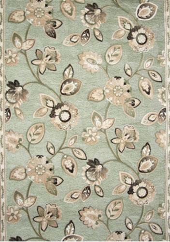 Ковер Oriental Weavers Арена, цвет: зеленый, 120 х 180 см. 2G18418/корСочетание крупного рисунка на шинилле - это последние тенденции ковровой моды. Ковер от известной египетской фабрики Oriental Weavers подойдет для современных и классических интерьеров.