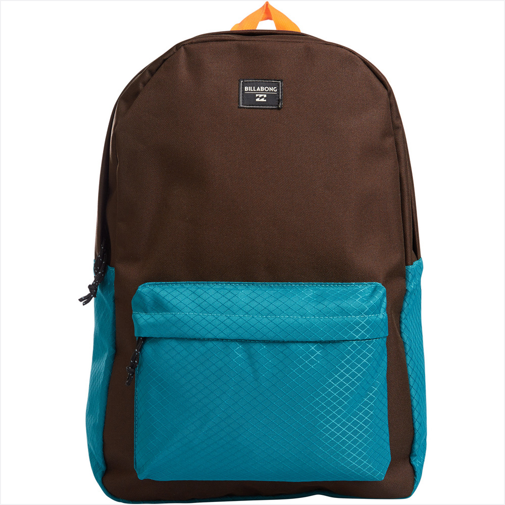 Рюкзак городской Billabong All Day, цвет: шоколадный , 20 лMHDR2G/AПрактичный вместительный рюкзак, готовый вписаться в ваш стиль и вместить все ваши вещи, необходимые для учебы, работы или просто прогулок по городу. Этот классический рюкзак сочетает в себе утилитарный стиль и практичность в солидной цветовой гамме.Большое основное отделение закрывается на молнию. Имеются передний карман на молнии и регулируемые мягкие лямки.