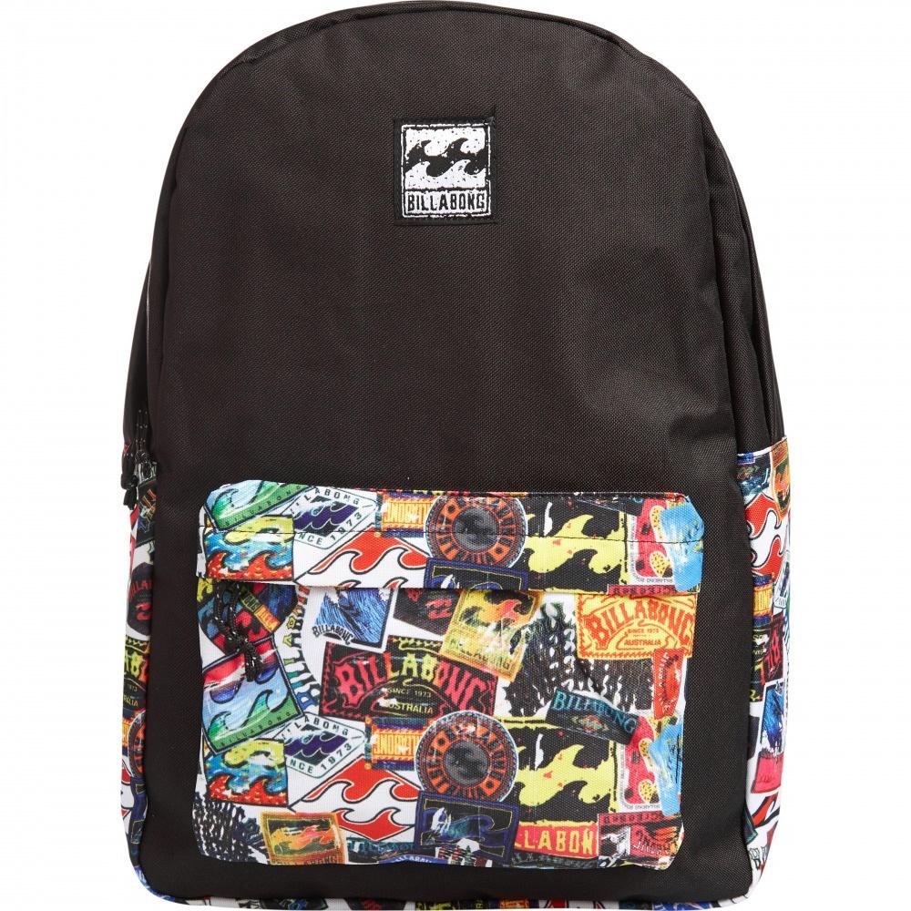 Рюкзак городской Billabong All Day, цвет: мультиколор, 20 л. Z5BP01RivaCase 8460 blackПрактичный вместительный рюкзак, готовый вписаться в Ваш стиль и вместить все Ваши вещи, необходимые для учебы, работы или просто прогулок по городу.