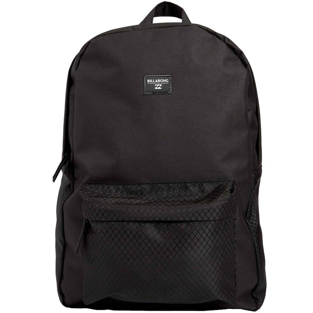 Рюкзак городской Billabong All Day, цвет: ярко-черный , 20 л. Z5BP01ГризлиПрактичный вместительный рюкзак, готовый вписаться в Ваш стиль и вместить все Ваши вещи, необходимые для учебы, работы или просто прогулок по городу.
