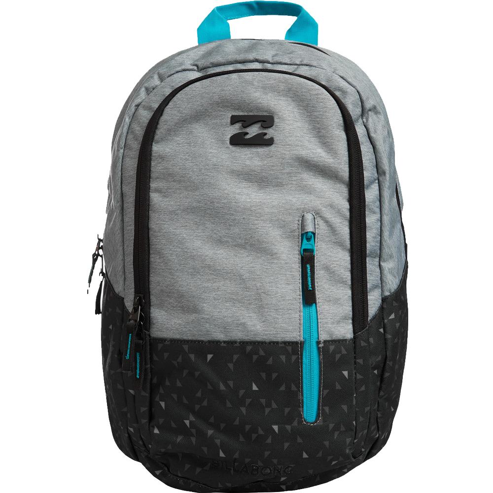 Рюкзак городской мужской Billabong Shadow, цвет: серый, вереск, 25 лZ5BP03Стильный и удобный рюкзак, компактный и достаточно вместительный, сделан, чтобы следовать за вами всюду, как тень. Рюкзак Shadow, в котором сочетается функциональность и эстетический внешний вид. Большое основное отделение с мягким карманом для ноутбука. Дополнительное отделение с вертикальным карманом. Усиленное дно. Эргономичные лямки с регулировкой.