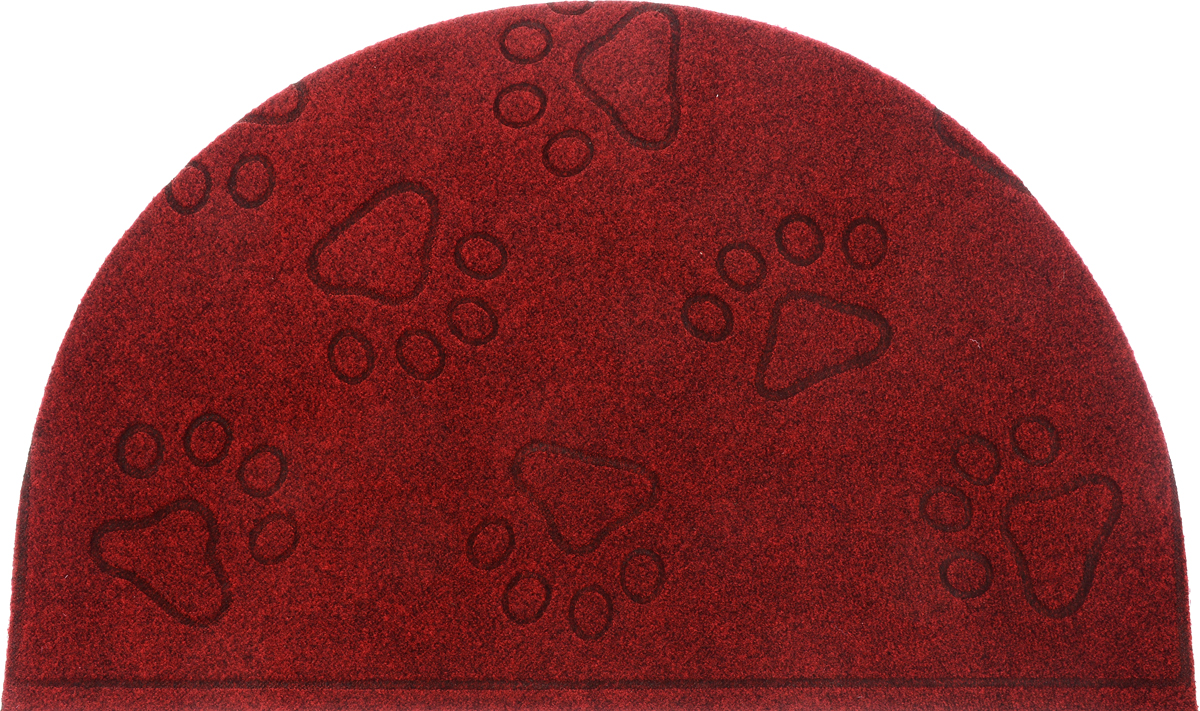 Коврик придверный EFCO Оскар. Лапы, цвет: красный, 65 х 40 смU210DFОригинальный придверный коврик EFCO Оскар. Лапы надежно защитит помещение от уличной пыли и грязи. Изделие выполнено из 100% полипропилена, основа - латекс. Такой коврик сохранит привлекательный внешний вид на долгое время, а благодаря латексной основе, он легко чистится и моется.