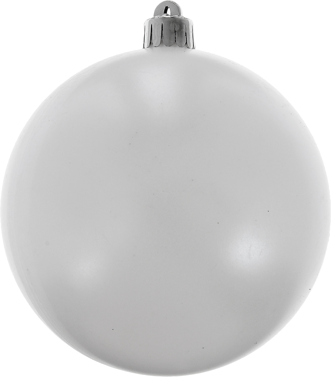 Украшение новогоднее подвесное Winter Wings Шар. Белый жемчуг, диаметр 10 смN069814Новогоднее подвесное украшение Winter Wings Шар. Белый жемчуг выполнено из пластика в виде шара. С помощью специальной петельки украшение можно повесить в любом понравившемся вам месте. Но, конечно, удачнее всего оно будет смотреться на праздничной елке.Елочная игрушка - символ Нового года. Она несет в себе волшебство и красоту праздника. Создайте в своем доме атмосферу веселья и радости, украшая новогоднюю елку нарядными игрушками, которые будут из года в год накапливать теплоту воспоминаний.