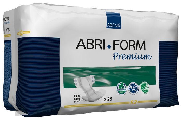 Abena Подгузники для взрослых Abri-Form S2 28 шт 43055MFM-3101Подгузники для взрослых Abri-Form Premium S2 - классические подгузники для взрослых (лежачих или малоподвижных людей после операций) со средней и тяжелой формой недержания мочи и кала.Качество каждого подгузника проверено электроникой.Abri-Form Premium - это полная линейка премиум подгузников для взрослых с умеренной и тяжелой формами недержания. Отличия Abri-Form Premium от других подгузников:- 3 степени защиты от протеканий (уникальные впитывающие каналы, 6 слоев, высокие бортики, направленные внутрь подгузника)- имеет дополнительную защиту от протеканий со спины (первые в России подгузники с кармашком, задерживающим жидкость)- мягкие тянущиеся боковинки не оставляют следов на бедрах, в отличие от обычной резинки- жидкость превращается в гель и не может вытечь7 дополнительных преимуществ:- подгузник полностью дышащий;- задерживает запахи;- быстро впитывает за счет системы Top Dry (Топ Драй) и влагораспределяющих каналов;- выполнен из мягких бесшумных материалов;- имеет сегментированный индикатор намокания;- отмечен экомаркировкой Скандинавии Белый лебедь;- одобрен дерматологическим контролем- впитываемость: более 1800 мл