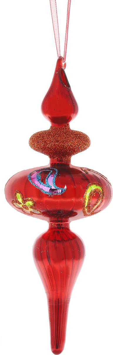 Украшение новогоднее подвесное Winter Wings Волчок, высота 19 смN07993Новогоднее подвесное украшение Winter Wings Волчок выполнено из стекла и украшено блестками. С помощью специальной петельки украшение можно повесить в любом понравившемся вам месте. Но, конечно, удачнее всего оно будет смотреться на праздничной елке.Елочная игрушка - символ Нового года. Она несет в себе волшебство и красоту праздника. Создайте в своем доме атмосферу веселья и радости, украшая новогоднюю елку нарядными игрушками, которые будут из года в год накапливать теплоту воспоминаний.