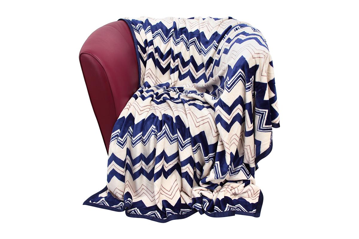 Плед EL Casa Морская волна, 200 х 230 смU210DFУютный, легкий и прочный плед в оригинальном дизайне послужит украшением декора вашей комнаты и согреет вас и ваших близких.Устойчив к истиранию и скатыванию, не мнется, не деформируется, сохранит первоначальный вид даже при активном использовании и многочисленных стирках. Такой плед идеален в качестве подарка на любой праздник. Изделие в подарочной сумке с ручками.Плотность - 320 г/м2.