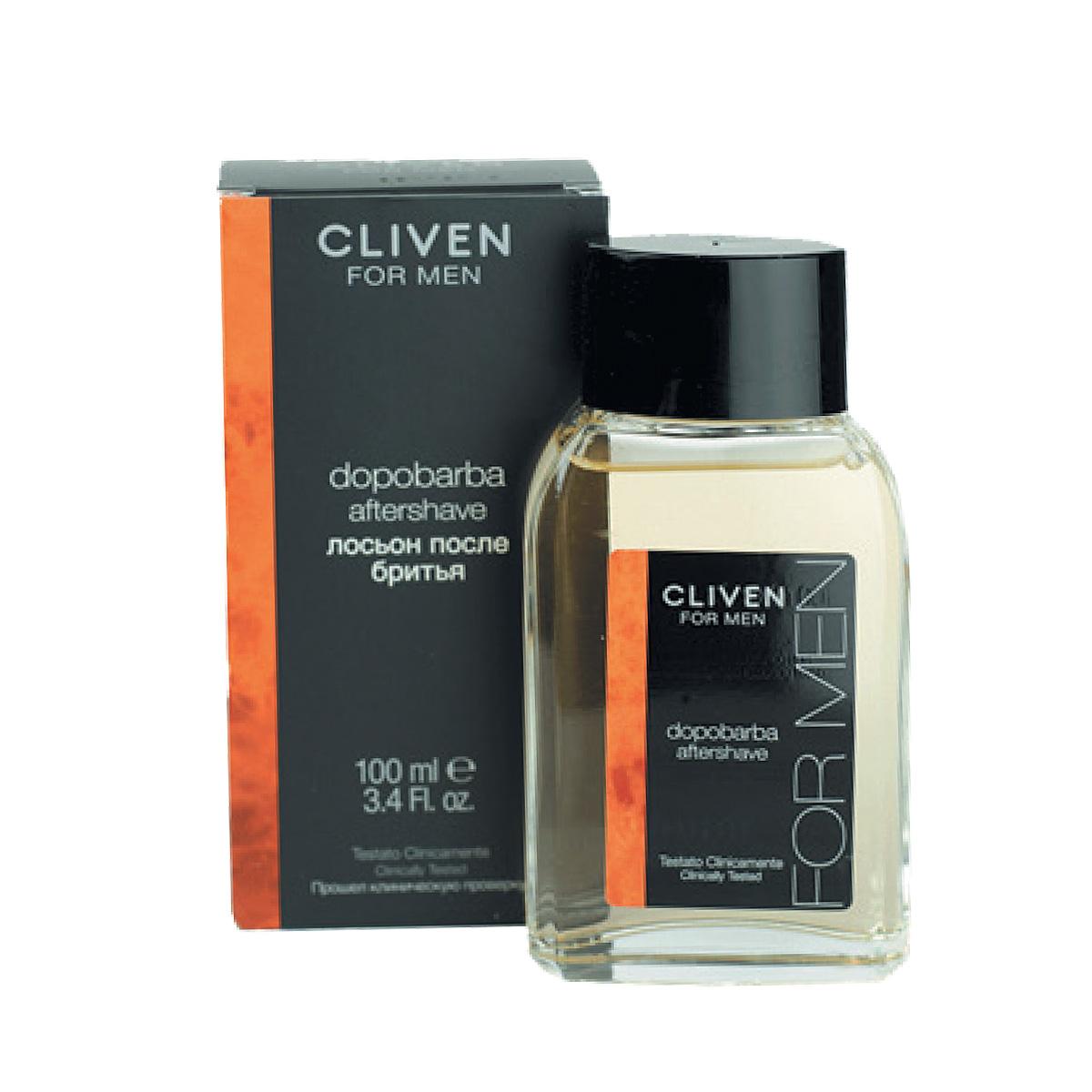 Cliven Лосьон после бритья 100мл5010777139655Лосьон мгновенно заряжает кожу энергией, а витамин Е ухаживает и успокаивает после бритья. Моментально снимает ощущение жжения после бритья.Ваше лицо выглядит свежим и отдохнувшим.