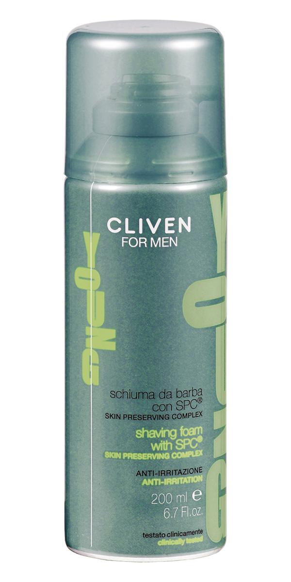 Cliven Young Пена для бритья 200мл889701Пена содержит эфективный комплекс, восстаноавливающий водный баланс кожи. Гарантирует ежедневное увлажнение и эластичность кожи.