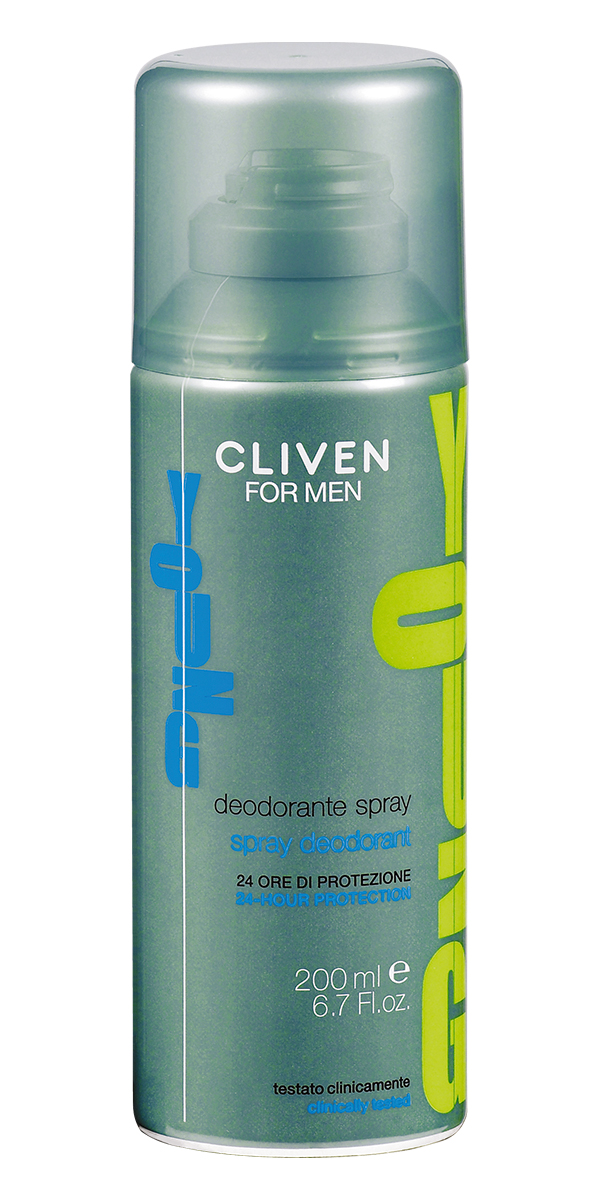 Cliven Young Дезодорант-спрей 200мл72523WDДезодорант-спрей Cliven For Men Young освежит и придаст приятный аромат.