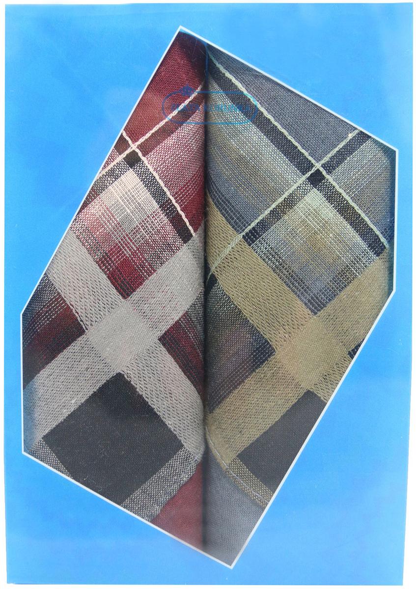 Платок носовой мужской Zlata Korunka, цвет: бордовый, светло-коричневый, черный, 2 шт. 40213-1. Размер 38 см х 38 смБрошь-кулонОригинальный мужской носовой платок Zlata Korunka изготовлен из высококачественного натурального хлопка, благодаря чему приятен в использовании, хорошо стирается, не садится и отлично впитывает влагу. Практичный и изящный носовой платок будет незаменим в повседневной жизни любого современного человека. Такой платок послужит стильным аксессуаром и подчеркнет ваше превосходное чувство вкуса.В комплекте 2 платка.