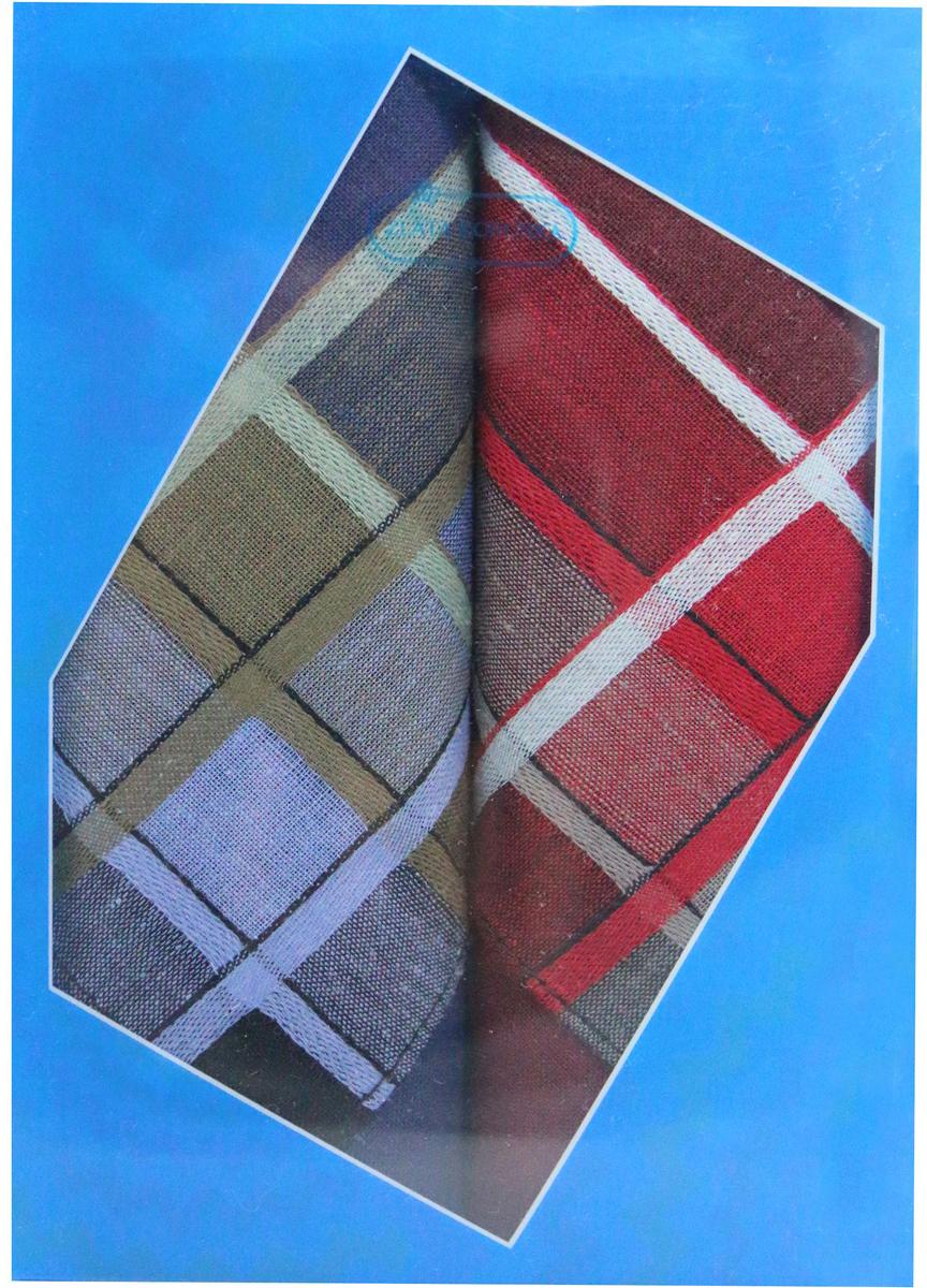 Платок носовой мужской Zlata Korunka, цвет: красный, темно-синий, 2 шт. 40213-10. Размер 38 см х 38 см39864|Серьги с подвескамиОригинальный мужской носовой платок Zlata Korunka изготовлен из высококачественного натурального хлопка, благодаря чему приятен в использовании, хорошо стирается, не садится и отлично впитывает влагу. Практичный и изящный носовой платок будет незаменим в повседневной жизни любого современного человека. Такой платок послужит стильным аксессуаром и подчеркнет ваше превосходное чувство вкуса.В комплекте 2 платка.