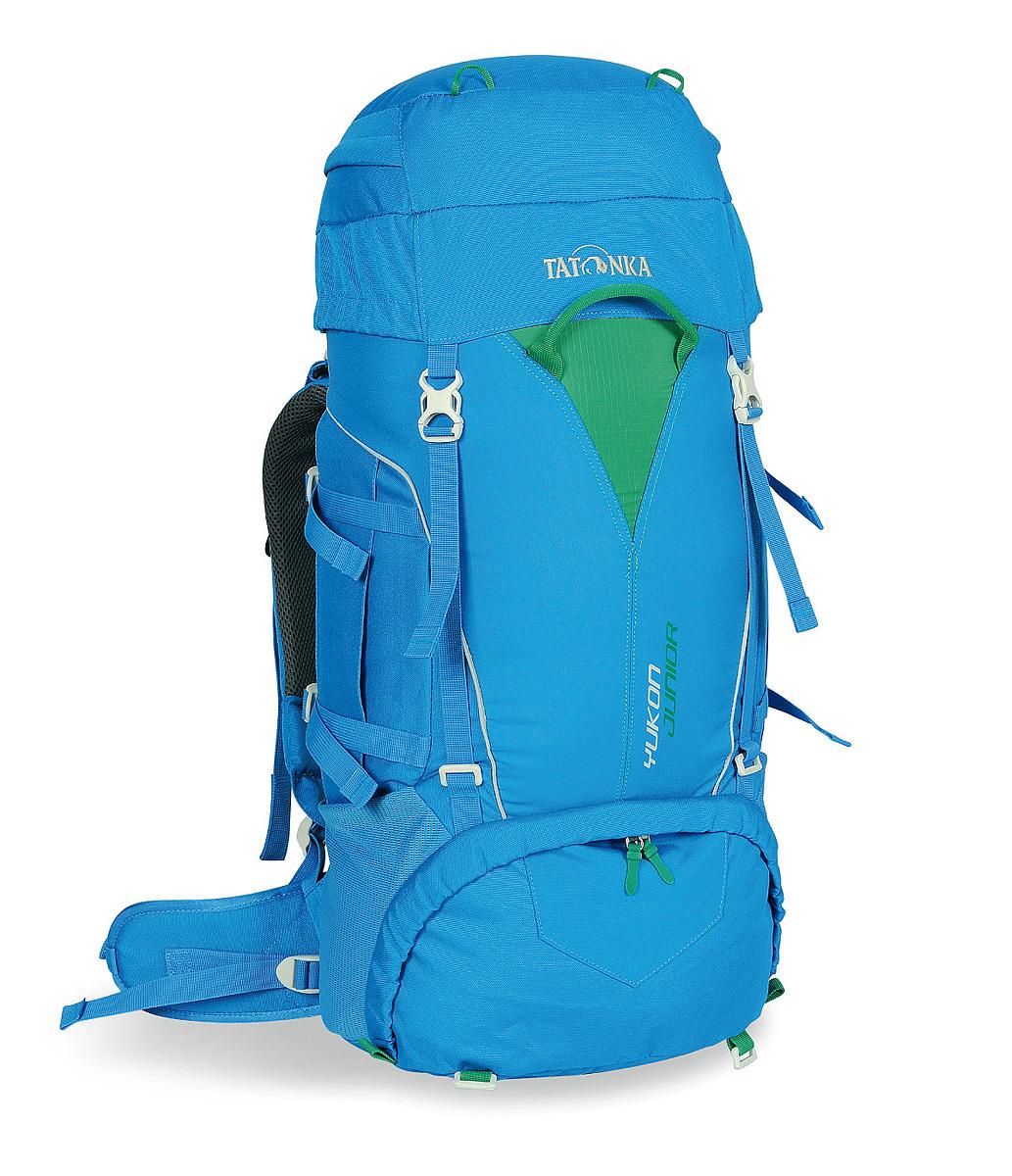 Детский походный рюкзак Tatonka Yukon Junior, цвет: синий, 27л1410.194Детский походный рюкзак Tatonka Yukon Junior с оптимальными параметрами для размещения необходимых вещей. Рюкзак представляет собой идеальный баланс легкости, прочности и комфорта.Регулируемая система спины Y1 позволяет настроить рюкзак под конкретные параметры ребенка, что делает переносу рюкзака очень комфортной.Объем: 27 л