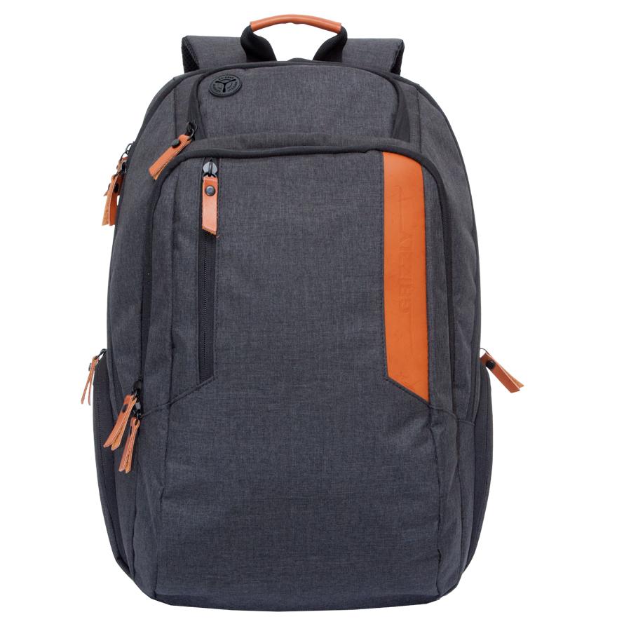 Рюкзак молодежный мужской Grizzly, цвет: черный, 26 л. RU-700-6/36912БРюкзак молодежный Grizzly содержит два отделения, карман на молнии на передней стенке, боковые стяжки-фиксаторы, объемные боковые карманы на молнии, внутренний карман на молнии, внутренний карман-пенал для карандашей, внутренний укрепленный карман для ноутбука, укрепленная спинка, карман для аудиоплеера, дополнительная ручка-петля, нагрудная стяжка-фиксатор, укрепленные лямки, брелок для ключей.