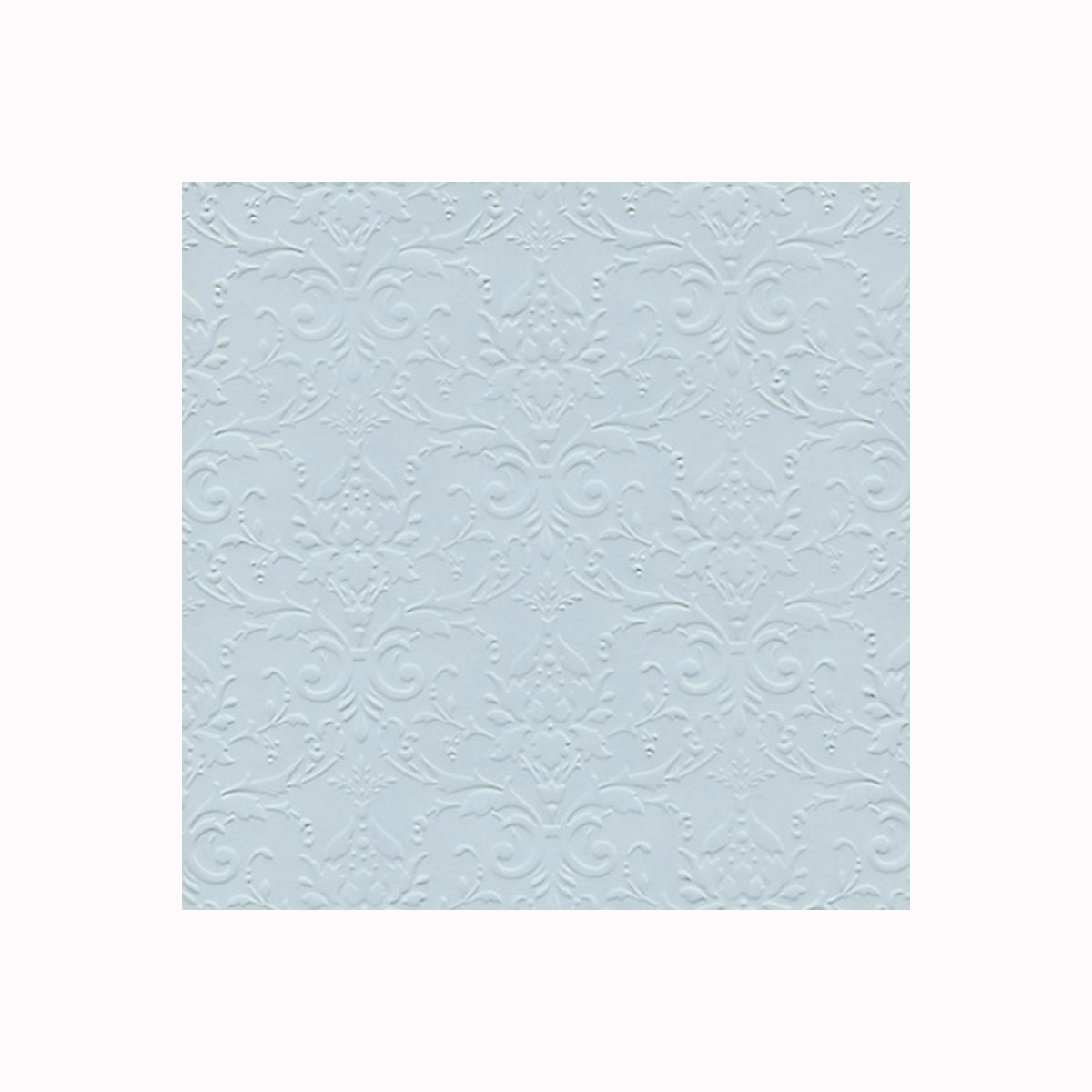 Бумага фактурная Лоза Дамасский узор, цвет: светло-голубой, 3 листаNLED-454-9W-BKФактурная бумага для скрапбукинга Лоза Дамасский узор позволит создать красивый альбом, фоторамку или открытку ручной работы, оформить подарок или аппликацию. Набор включает в себя 3 листа из плотной бумаги. Скрапбукинг - это хобби, которое способно приносить массу приятных эмоций не только человеку, который этим занимается, но и его близким, друзьям, родным. Это невероятно увлекательное занятие, которое поможет вам сохранить наиболее памятные и яркие моменты вашей жизни, а также интересно оформить интерьер дома.Плотность бумаги: 200 г/м2.