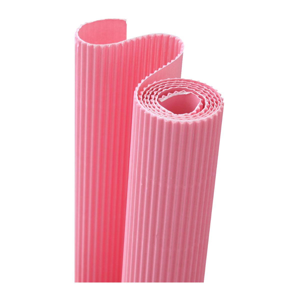 Картон гофрированный Folia, цвет: розовый, 50 х 70 см72523WDДвухслойный гофрированный картон Folia в основном применяется для декорирования. Он состоит из одного слоя плоского картона и слоя бумаги, имеющую волнообразную (гофрированную) форму. Отличается малым весом и высокими физическими параметрами.Применение: для дизайнерских и оформительских работ, для декоративного детского творчества. Также такой материал хорошо зарекомендовал себя в качестве упаковочного материала.