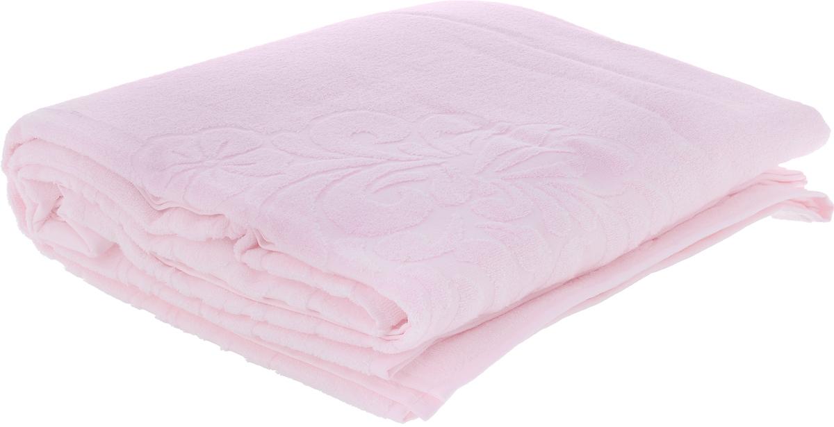Покрывало Issimo Home Valencia, цвет: светло-розовый, 160 х 240 смES-412Махровое покрывало Issimo Home Valencia изготовлено из экологически чистых материалов: хлопка (40%) и бамбука (60%). Изделие оснащено жаккардовой каймой и украшено рельефным рисунком. Покрывало подходит как для взрослых, так и для детей. Оно будет хорошо смотреться и на диване, и на большой кровати.