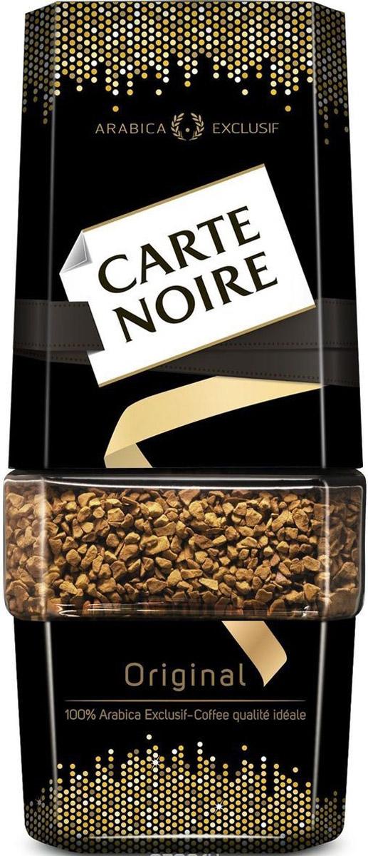 Carte Noire Original кофе растворимый, 190 г0120710Достигнув совершенства в кофейном мастерстве, Carte Noire создал новый стандарт качества кофе. Обжарка Carte Noire Огонь и Лед раскрывает всю интенсивность и богатство вкуса натурального кофейного зерна.Так же как лед украшает пламя, холодный поток останавливает обжарку на самом пике, чтобы создать совершенный насыщенный кофе. В этом столкновении контрастов рождается исключительность Carte Noire -его безупречный насыщенный вкус и непревзойденное качество.Для создания нового вкуса совершенного французского кофе Carte Noire используются высококачественные кофейные зерна 100% Arabica Exclusif. Способ приготовления: положите в чашку одну-две чайные ложки кофе Carte Noire. Добавьте горячую, но не кипящую воду.