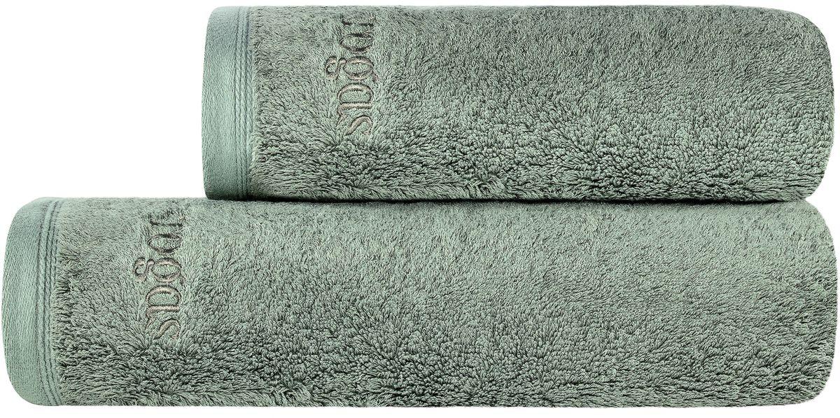 Полотенце банное Togas Пуатье, цвет: темно-зеленый, 50 х 100 см68/5/1ПУАТЬЕ Полотенце темно-зеленый, 50х100, 1 предмет, модал/хлопок, плотность 650 гр/м2.