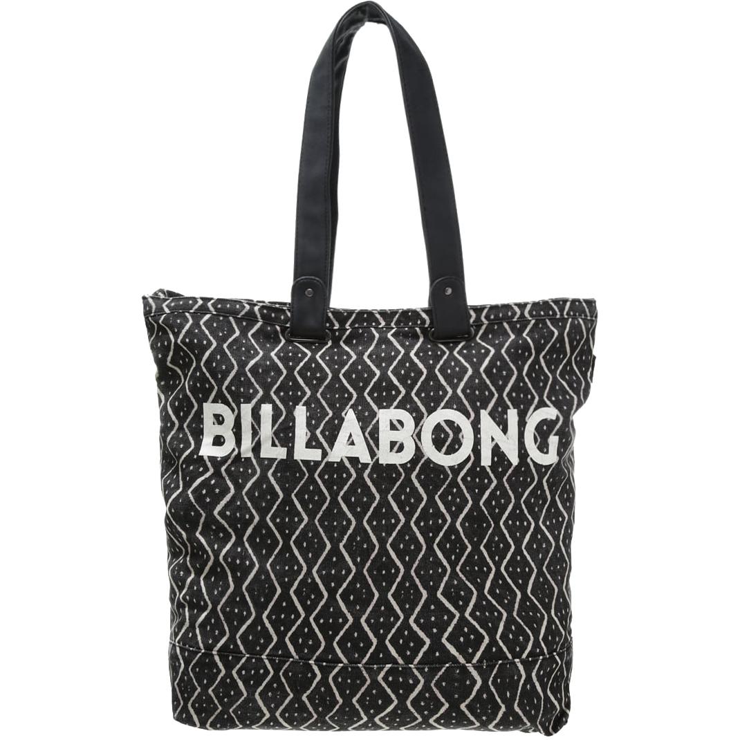 Сумка женская Billabong Essential Plus, цвет: черный, 25 л. Z9BG1008 00185Вместительная сумка с простой внутренней организацией. Лаконичный крой, дополненный внутренним карманом на молнии, который позволит быстро находить необходимые мелочи, позволит вместить множество вещей.