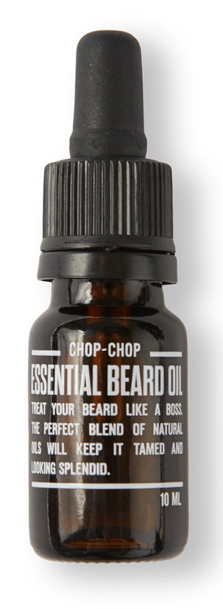 Chop-Chop Эликсир для бороды, 10 млGIL-81269090Для тех, кто любит свою бороду и отпускает ее. Специальная нежирная структура этого средства быстро впитывается и делает волосы супер-мягкими и приятными на ощупь.Активные ингредиентыВся сила мужского обаяния эликсира выражена ароматом контрастов мощной эссенции ветивера в дуэте с благородными экстрактами эфирного масла виноградных косточек. Нежирная текстура быстро впитывается и позволяет поддерживать бороду в ухоженном состоянии. Эликсир для бороды не содержит парабенов, красителей и химических отдушек.