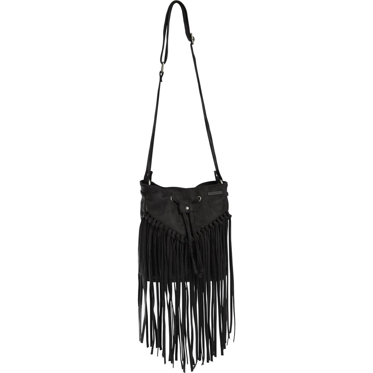 Сумка Billabong Addict, цвет: черный, 4 л. Z9BG05MABLSEH10001Классическая сумка через плечо, сделанная из прочного износостойкого хлопка. Одна из нескольких сумок из линейки Surfplus