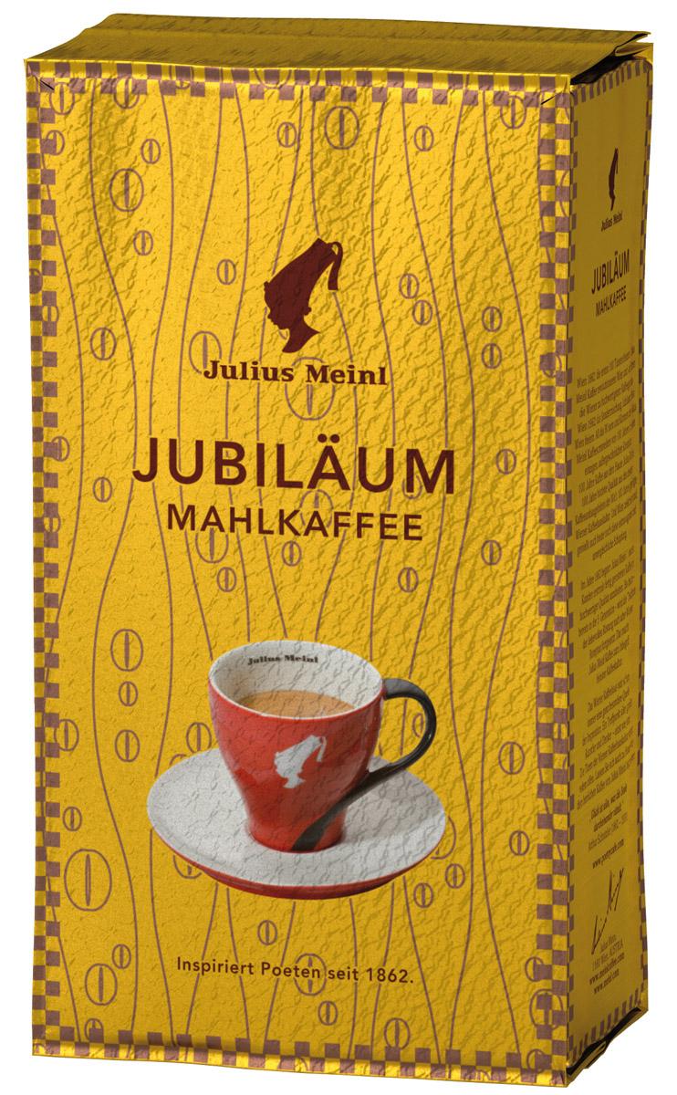 Julius Meinl Юбилейный кофе молотый, 250 г82117Премиальный бленд традиционной венской обжарки из лучших зерен, собранных на высокогорных плантациях Центральной Америки и Папуа Новой Гвинеи. Был создан 50 лет назад в честь празднования 100-летнего юбилея компании Julius Meinl.