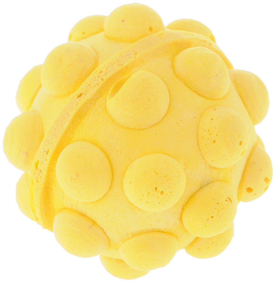 Игрушка для животных Каскад Мячик зефирный. Мина, цвет: желтый, диаметр 4,5 см75015Мягкая игрушка для животных Каскад Мячик зефирный. Мина изготовлена из вспененного полимера.Такая игрушка порадует вашего любимца, а вам доставит массу приятных эмоций, ведь наблюдать за игрой всегда интересно и приятно.Диаметр игрушки: 4,5 см.