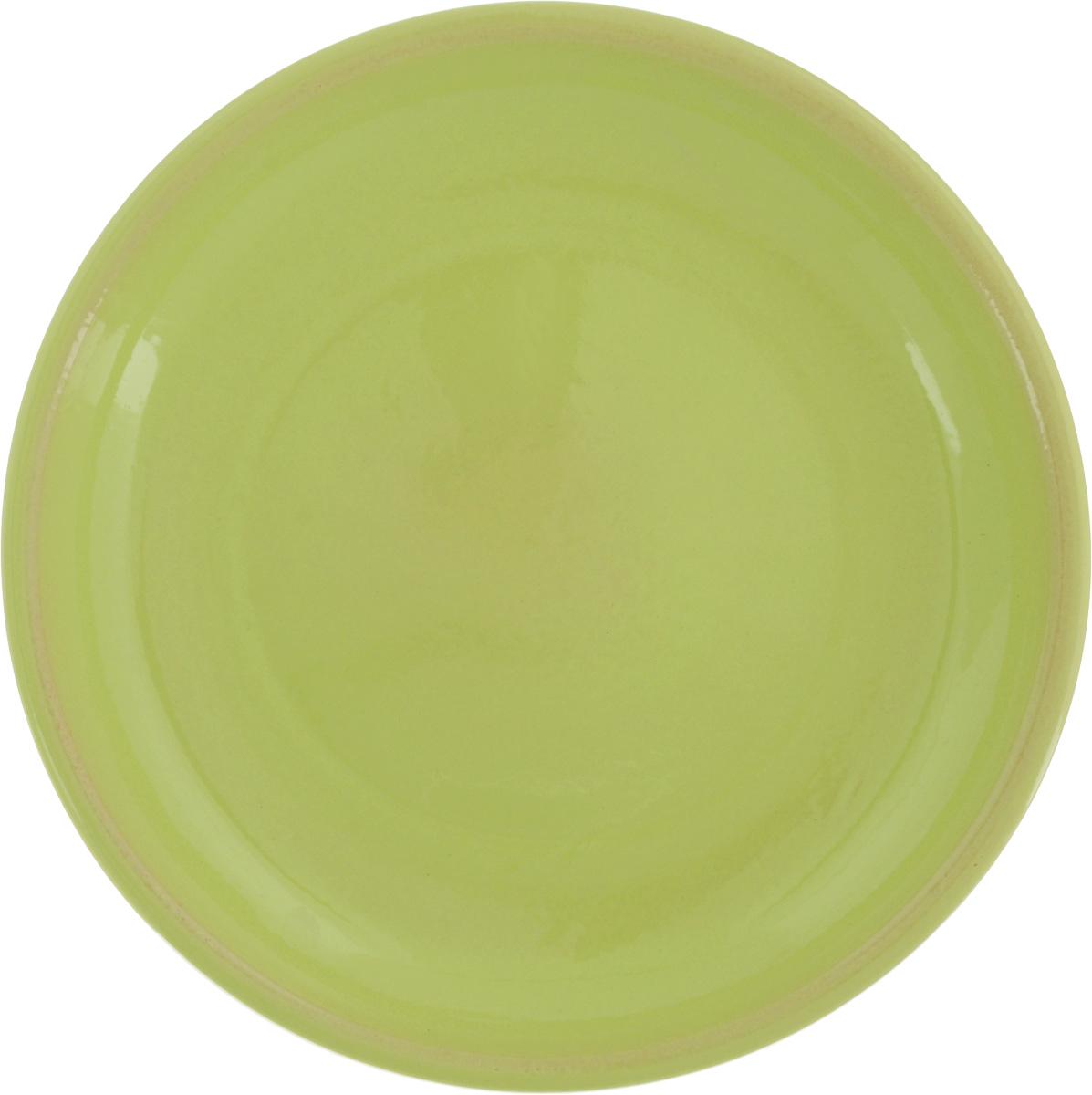 Тарелка Борисовская керамика Радуга, цвет: салатовый, диаметр 18 смAVSARN11027Тарелка Борисовская керамика Радуга выполнена из высококачественной керамики. Изделие идеально подойдет для сервировки стола и станет отличным подарком к любому празднику. Можно использовать в духовке и микроволновой печи.