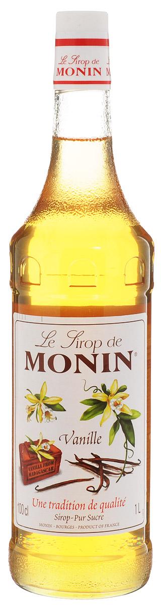 Monin Ваниль сироп, 1 л0120710Чтобы создать лучший ванильный сироп в мире, вы должны начать с лучшего ванильного экстракта в мире. На протяжении более 90 лет, Monin использовал премиальный экстракт ванили из Мадагаскара. Этот чистый экстракт дает сиропу Monin Ваниль превосходный вкус, что делает разницу в рецептах. Узнайте, как популярный сироп Monin Ваниль может улучшить практически любой напиток!ВКУСАромат стручка ванили в сочетании с экзотическими ароматами. Порошковый вкус и небольшой запах бренди.ПРИМЕНЕНИЕПринесет мягкость в кофе, десертные напитки, молочные коктейли, алкогольные или безалкогольные коктейли.Сиропы Monin выпускает одноименная французская марка, которая известна как лидирующий производитель алкогольных и безалкогольных сиропов в мире. В 1912 году во французском городке Бурже девятнадцатилетний предприниматель Джордж Монин основал собственную компанию, которая специализировалась на производстве вин, ликеров и сиропов. Место для завода было выбрано не случайно: город Бурже находился в непосредственной близости от крупных сельскохозяйственных районов - главных поставщиков свежих ягод и фруктов. Производство сиропов стало ключевым направлением деятельности компании Monin только в 1945 году, когда пост главы предприятия занял потомок основателя - Пол Монин. Именно под его руководством ассортимент марки пополнился разнообразными сиропами из натуральных ингредиентов, которые молниеносно заслужили блестящую репутацию в кругу поклонников кофейных напитков и коктейлей. По сей день высокое качество остается базовым принципом деятельности французской марки. Сиропы Монин создаются исключительно из натуральных ингредиентов по уникальным технологиям, позволяющим сохранять в готовом продукте все полезные свойства природного сырья.Эксперты всего мира сходятся во мнении, что сиропы Monin - это законодатели мод в миксологии. Ассортимент французской марки на сегодняшний день является самым широким и насчитывает полторы сотни уникальных вкусовых решений. В каталоге 