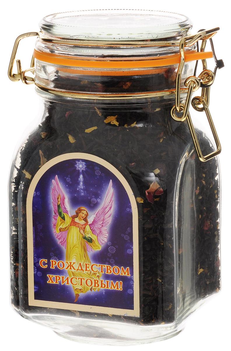 Дольче Вита С Рождеством Христовым! черный листовой чай, 170 г4791029011523Черный листовой чай Дольче Вита С Рождеством Христовым! с добавлением лепестков подсолнечника, розы, вереска, листьев грецкого ореха, ягод клюквы и облепихи.Способ употребления: засыпьте заварку (на одну ложку больше пьющих чай), залить кипятком, дать чаю настояться 3-4 минуты. Добавить сахар или молоко по вкусу.