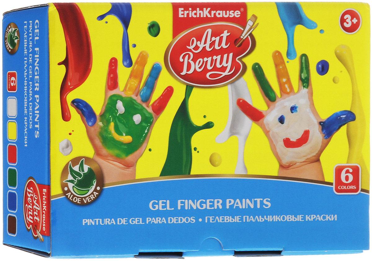 Erich Krause Краска пальчиковая ArtBerry 6 цветов 417520775B001Пальчиковая краска Erich Krause ArtBerry - это первая в мире пальчиковая краска с Алоэ вера. Краска нежно заботится о коже ребенка в процессе рисования. Основа красок - безопасные пищевые красители, которые изготавливаются из экологически чистых материалов. Пальчиковыми красками можно рисовать на бумаге и картоне, пальцами и ладошками, а также специальной кисточкой и спонжиками. В процессе рисования пальчиковыми красками ребенок научится различать и смешивать цвета, разовьет мелкую моторику и чувство осязания. Ребенок может рисовать мазки разной яркости, в зависимости от силы нажатия пальцев. Плотная гелевая структура краски не позволяет ей растекаться, если баночка случайно упадет. На листе, после высыхания, цвета рисунка останутся сочными и яркими, картинка приобретет глянцевый блеск. Рисование пальчиковыми красками способствует раннему развитию творческих способностей.
