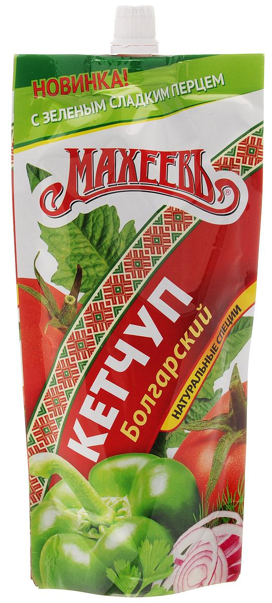 Махеев кетчуп болгарский, 260 г4607041132637Болгарский кетчуп Махеев обладает густой консистенцией и изысканным вкусом, подходит к любым блюдам.