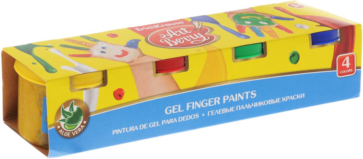 Erich Krause Краска пальчиковая ArtBerry 4 цвета 41753FS-00103Пальчиковая краска Erich Krause ArtBerry - это первая в мире пальчиковая краска с Алоэ вера. Краска нежно заботится о коже ребенка в процессе рисования. Основа красок - безопасные пищевые красители, которые изготавливаются из экологически чистых материалов. Пальчиковыми красками можно рисовать на бумаге и картоне, пальцами и ладошками, а также специальной кисточкой и спонжиками. В процессе рисования пальчиковыми красками ребенок научится различать и смешивать цвета, разовьет мелкую моторику и чувство осязания. Ребенок может рисовать мазки разной яркости, в зависимости от силы нажатия пальцев. Плотная гелевая структура краски не позволяет ей растекаться, если баночка случайно упадет. На листе, после высыхания, цвета рисунка останутся сочными и яркими, картинка приобретет глянцевый блеск. Рисование пальчиковыми красками способствует раннему развитию творческих способностей.