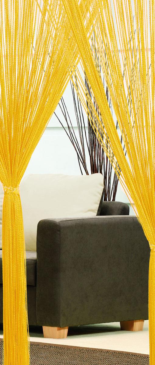 Гардина-лапша Haft, на кулиске, цвет: желтый, высота 250 смSVC-300Легкая гардина-лапша на кулиске Haft, изготовленная из полиэстера, станетвеликолепным украшением любого окна. Оригинальный дизайн и приятнаяцветовая гамма привлекут к себе внимание и органично впишутся в интерьеркомнаты.