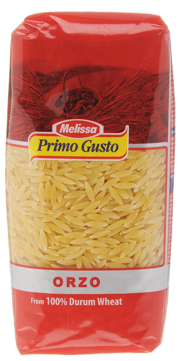 Melissa-Primo Gusto Паста Орцо, 500 г0120710Этот вид макаронных изделий крайне популярен в Средиземноморской кухне. Пасты Melissa-Primo Gusto изготовлены из муки грубых сортов, что делает макаронные изделия полезными и безопасными для фигуры. Такие макароны можно употреблять даже при строгой диете.Паста имеет светлый оттенок, как в сыром, так и в готовом виде, и сохраняет идеальную текстуру при приготовлении.Паста Melissa-Primo Gusto Орцо - необычные макароны. Внешне они напоминают рисовые зернышки. Паста отлично подходит для приготовления ризотто. Также ее можно добавлять и в овощные салаты, супы и другие блюда.