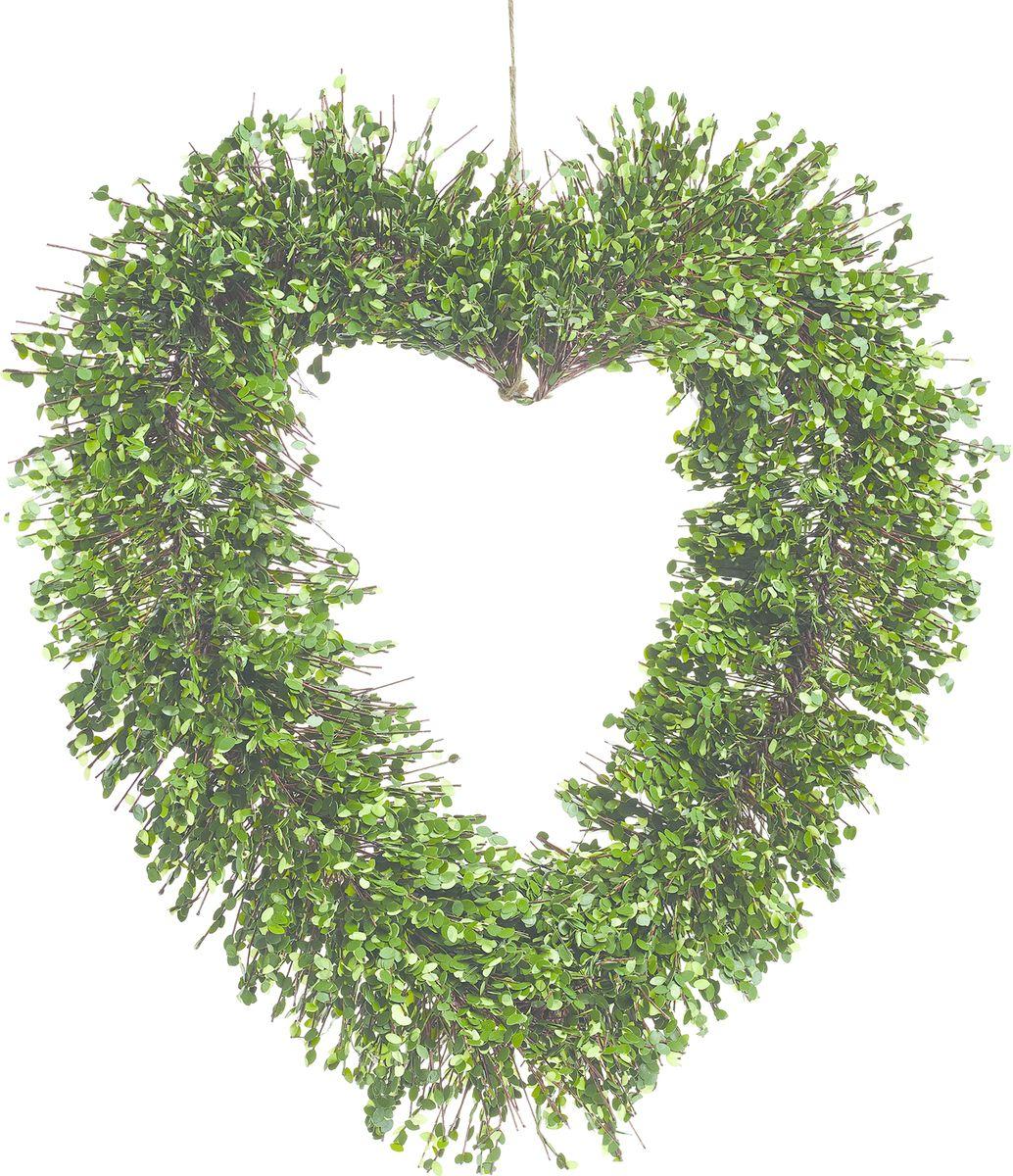 Настенный декор Gardman Венок-сердце, со светодиодами, 51 см41668Растение, освещенное 35 светодиодами, можно расположить как внутри, так и снаружи помещения. Растение оснащено таймером: автоматическое включение на 6 часов -выключение на 18 часов. Работает от 3 батареек АА ( в комплект не включены)