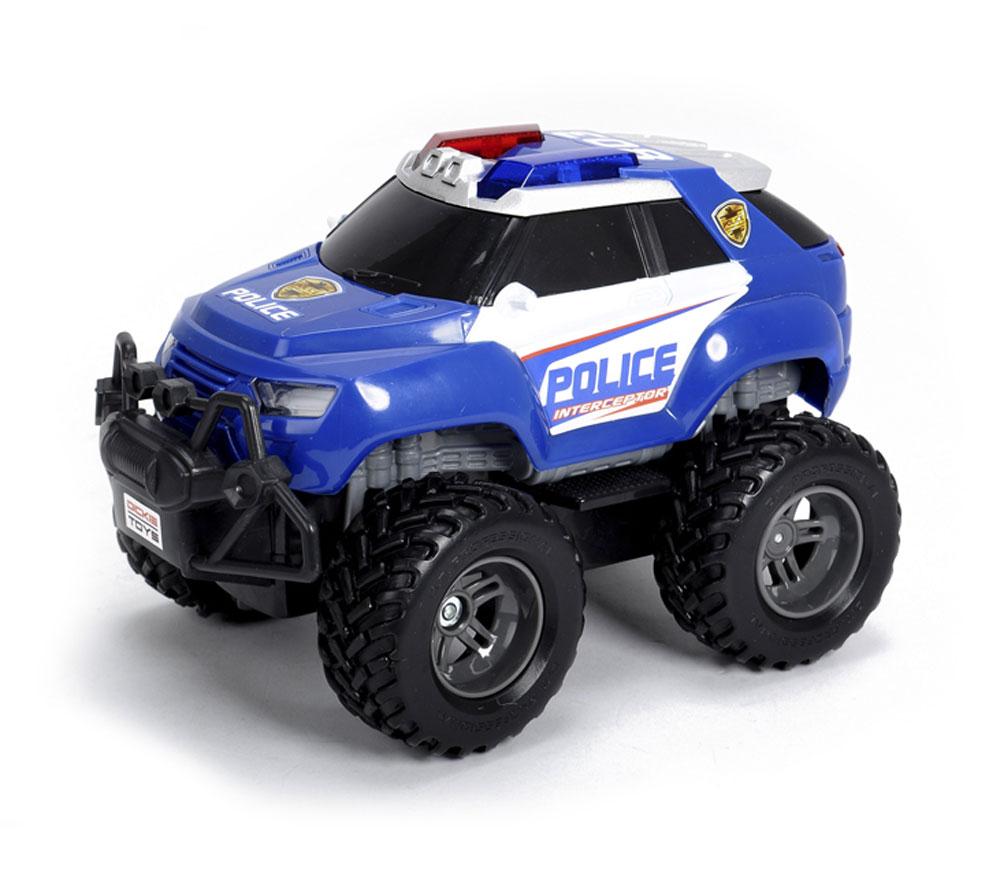 Dickie Toys Машинка на радиоуправлении Джип Полиция dickie toys dickie toys фрикционный джип 4 х 4 hill roader красный