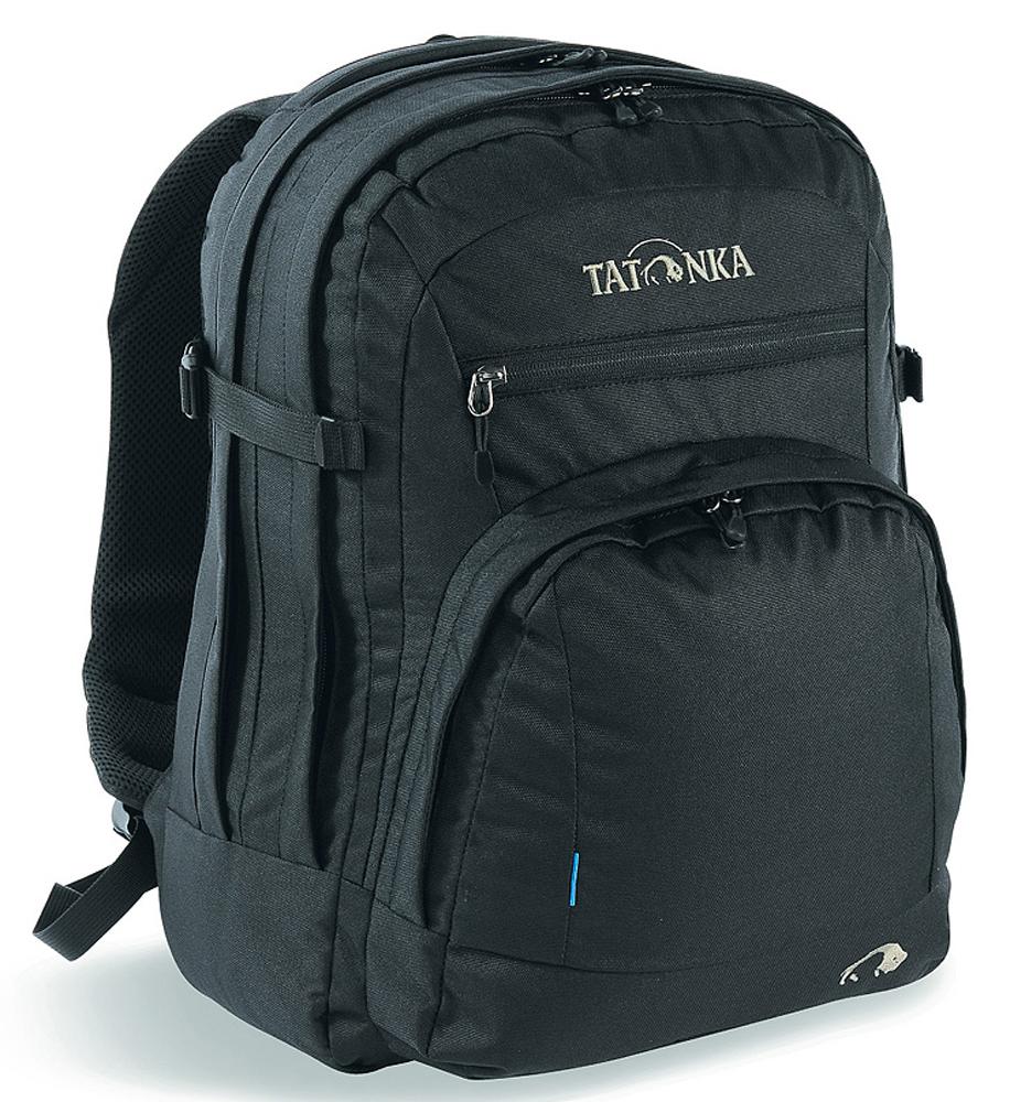Рюкзак городской Tatonka Marvin, цвет: черный, 13 лMABLSEH10001Классический городской рюкзак Tatonka Marvin отлично подойдет для ежедневного использования в работе или учебе. Изделие имеет отделение для ноутбука с диагональю экрана до 15,4 дюйма включительно. Предусмотрены S-образные плечевые ремни с сеточкой Air Mesh. Имеется органайзер для письменных принадлежностей. Рюкзак Tatonka Marvin имеет прочные молнии.