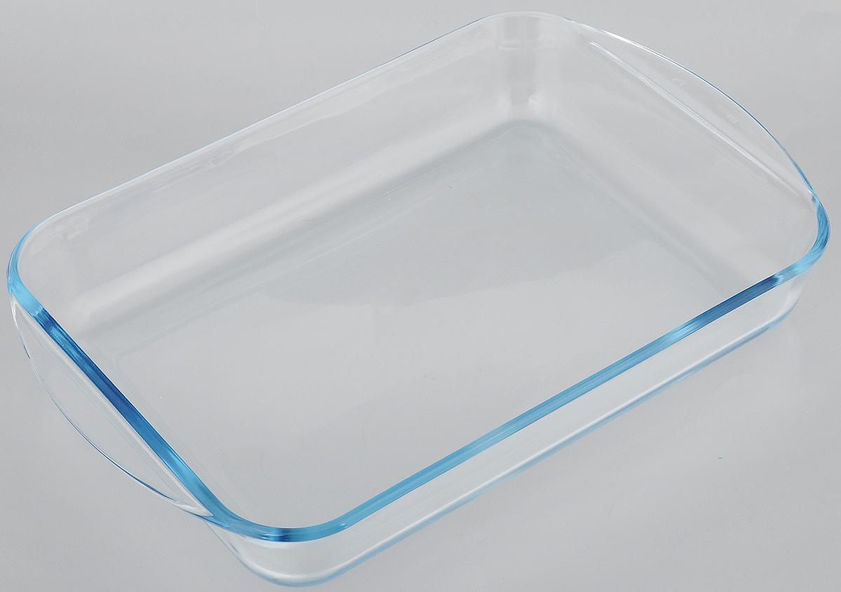 Форма для запекания Pyrex, прямоугольная, 35 x 23 смCL-4582_темно-серый_красныйФорма Pyrex изготовлена из прозрачного жаропрочного стекла. Непористая поверхность исключает образование бактерий, великолепно моется. Изделие идеально подходит для приготовления в духовом шкафу. Выдерживает перепад температур от -40°C до +300°C.Форма Pyrex Pyrex подходит для использования в микроволновой печи, приготовления блюд в духовке, хранения пищи в холодильнике. Можно мыть в посудомоечной машине. Размер формы (по верхнему краю): 35 х 23 см.Высота формы: 5,3 см.