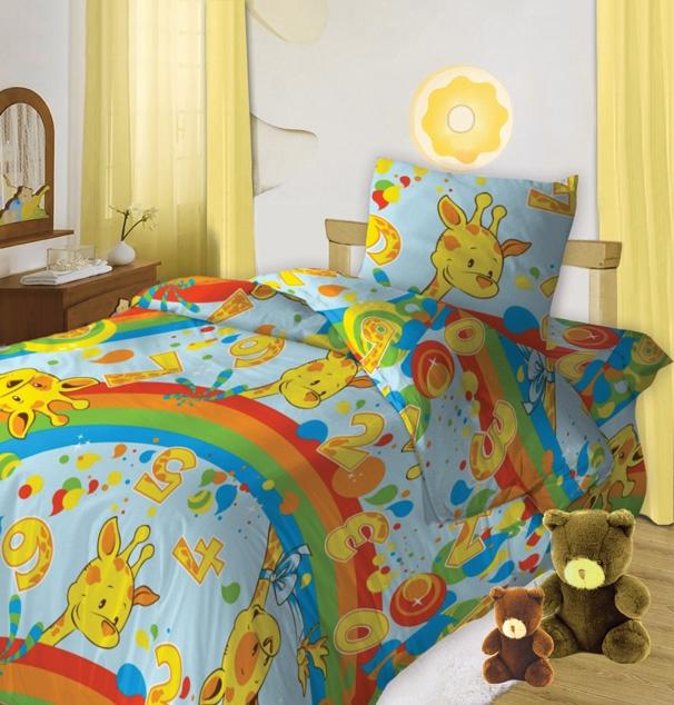 Кошки-мышки Комплект постельного белья для новорожденных Веселый счет