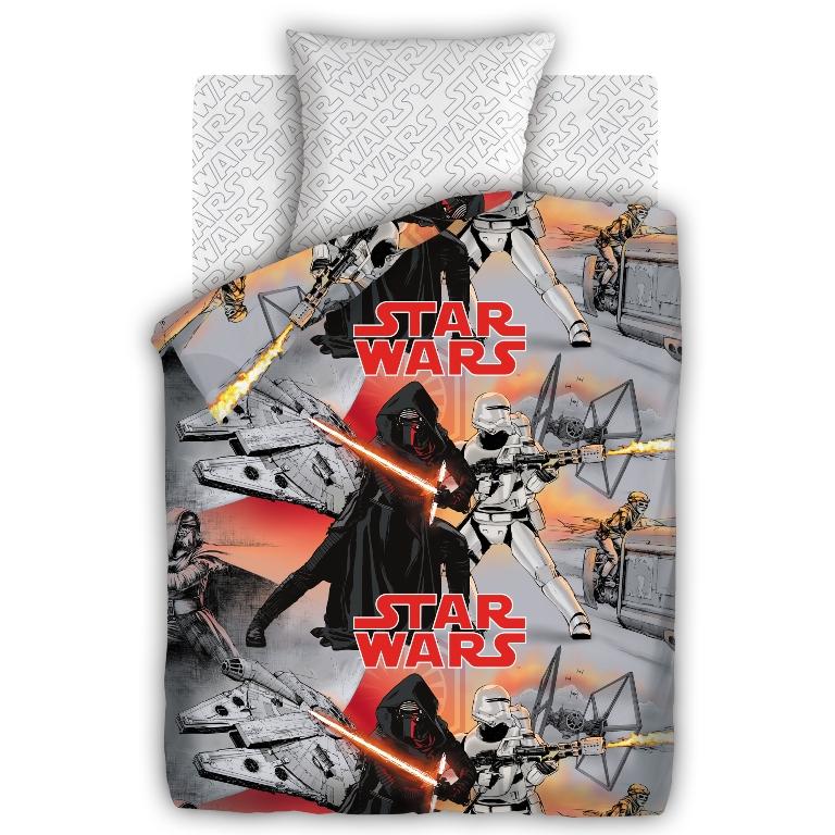 Комплект детского постельного белья Star Wars Противостояние, цвет: серый (8744/8705 вид 3)327025