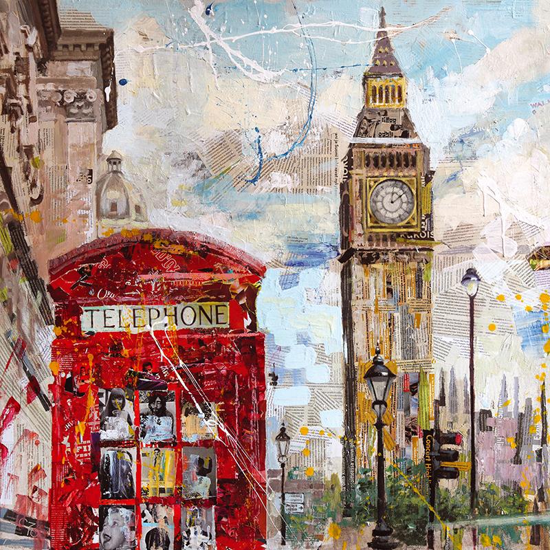 Канвасы Postermarket Лондон, 40 х 40 смMC-65Канвас - это специальная современная технология печати на холсте. Из любимых фотографий или понравившихся вам изображений, которых в Интернете неограниченное количество, вы можете сделать собственную фотокартину.Холст изготовлен из полиэстера, рамка - из дерева.Размер панно: 400 x 400 мм.