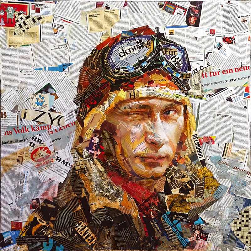 Канвасы Postermarket Путин, 40 х 40 см. CT3-32CT3-32