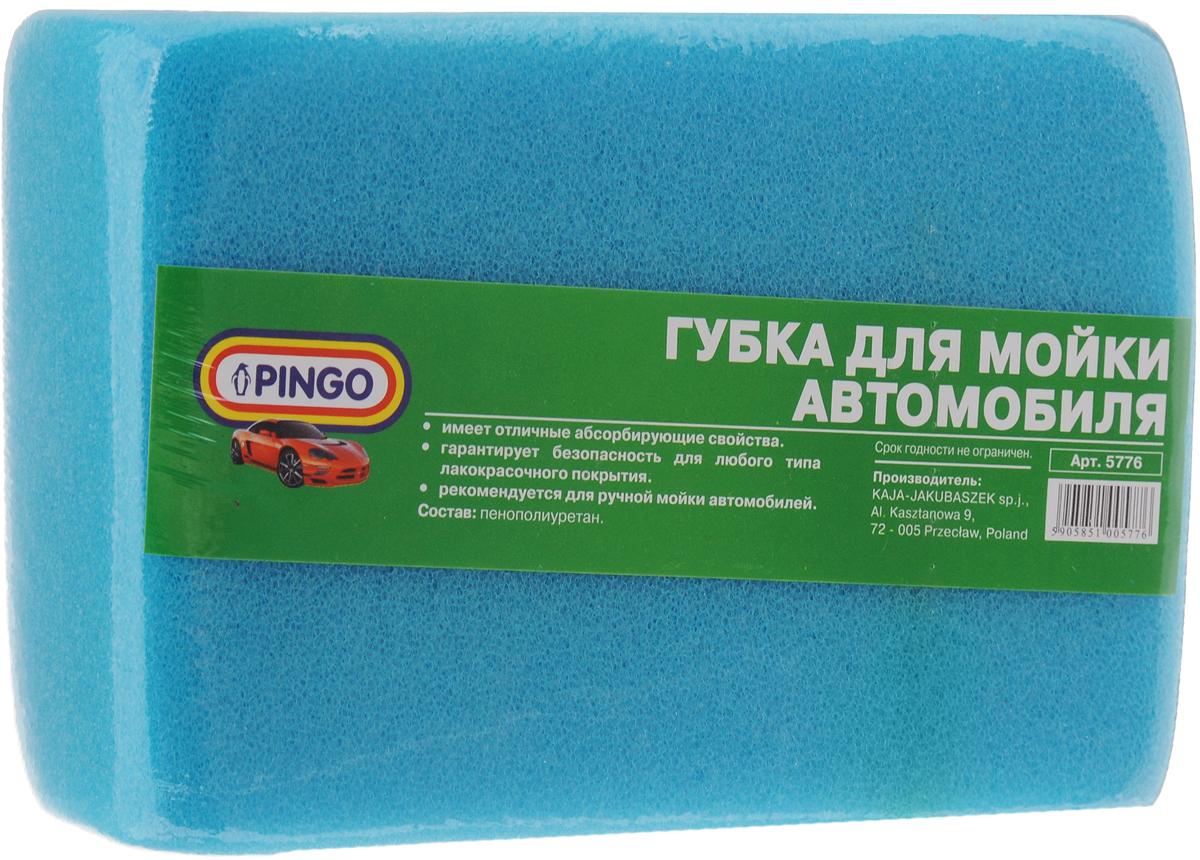 Губка для мытья автомобиля Pingo, цвет: голубой, 18 х 12 х 6 смВетерок 2ГФГубка Pingo, изготовленная из высококачественного пенополиуретана, обеспечивает бережный уход за лакокрасочным покрытием автомобиля, обладает высокими абсорбирующими свойствами. При использовании с моющими средствами, изделие создает обильную пену. Губка Pingo сохраняет свою форму даже после многократного использования и прослужит вам долгие годы.