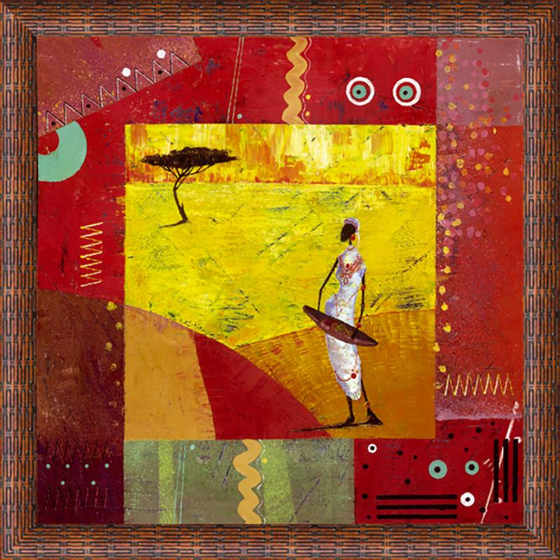 Картина Postermarket Африка I, 30 х 30 смCT3-55Картина Postermarket Африка I прекрасно подойдет для декора интерьера различных помещений. Постер, выполненный в технике фотопечать, оформлен багетом коричневого цвета. Картина для интерьера (постер) - это современное и актуальное направление в дизайне помещений. Ее можно использовать для оформления любых помещений (дом, квартира, офис, бар, кафе, ресторан или гостиница). работоспособность. Правильное оформление интерьера создает благоприятный психологический климат, улучшает настроение и мотивирует.Размер картины: 300 x 300 мм.