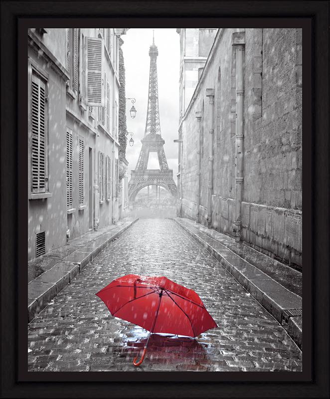 Картина Postermarket Дождь в Париже, 40 х 50 смБрелок для сумкиКартина Postermarket Дождь в Париже прекрасно подойдет для декора интерьера различных помещений. Постер, выполненный в технике фотопечать, оформлен багетом черного цвета. Картина для интерьера (постер) - это современное и актуальное направление в дизайне помещений. Ее можно использовать для оформления любых помещений (дом, квартира, офис, бар, кафе, ресторан или гостиница). работоспособность. Правильное оформление интерьера создает благоприятный психологический климат, улучшает настроение и мотивирует.Размер картины: 400 x 500 мм.