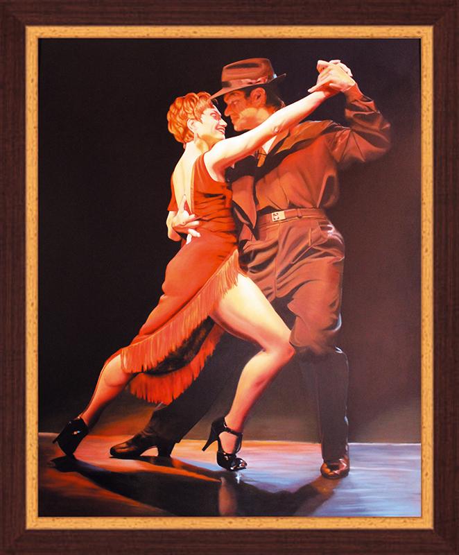 Картина Postermarket Аргентинское танго, 40 х 50 см. PM-4024 картина postermarket натюрморт с тюльпанами 40 х 40 см mc 51