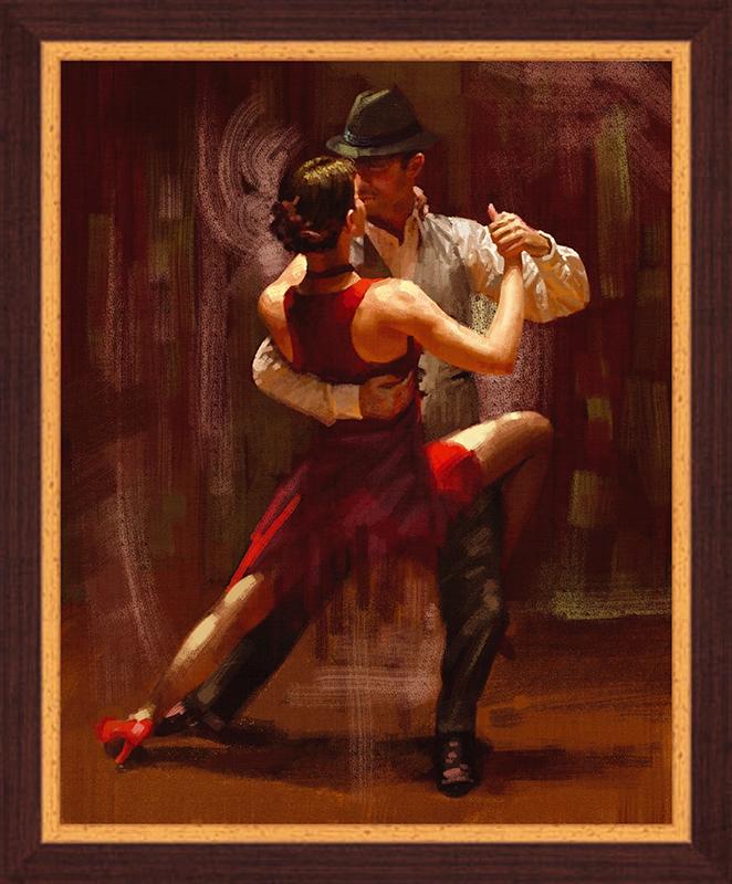 Картина Postermarket Фантазия танго, 40 х 50 см4-457Картина Postermarket Фантазия танго прекрасно подойдет для декора интерьера различных помещений. Постер, выполненный в технике фотопечать, оформлен багетом коричневого цвета. Картина для интерьера (постер) - это современное и актуальное направление в дизайне помещений. Ее можно использовать для оформления любых помещений (дом, квартира, офис, бар, кафе, ресторан или гостиница). работоспособность. Правильное оформление интерьера создает благоприятный психологический климат, улучшает настроение и мотивирует.Размер картины: 400 x 500 мм.
