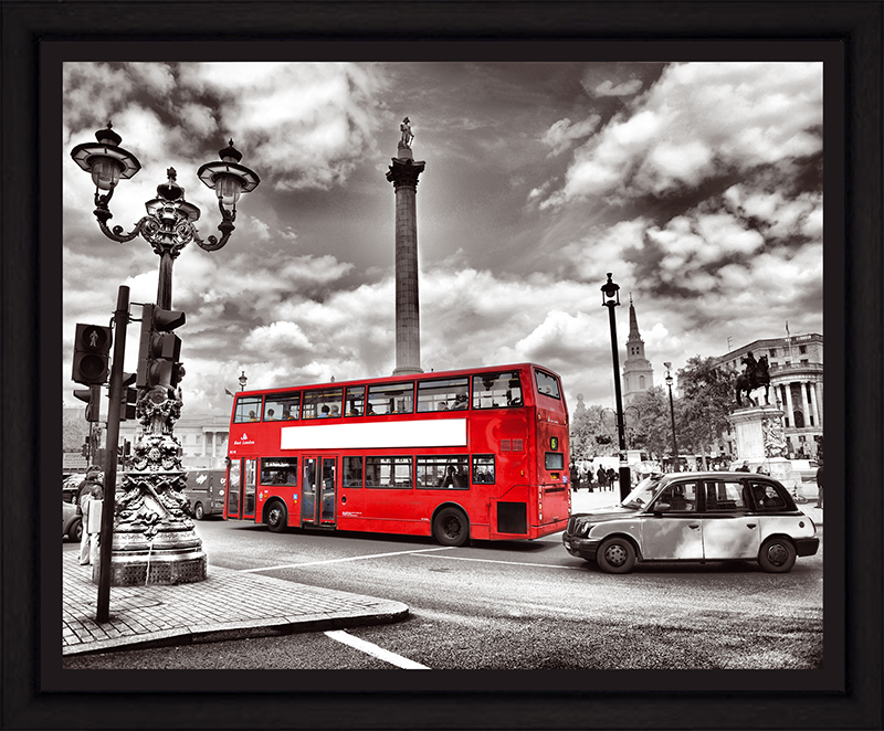 Картина Postermarket Лондонский автобус, 40 х 50 см картина postermarket натюрморт с тюльпанами 40 х 40 см mc 51